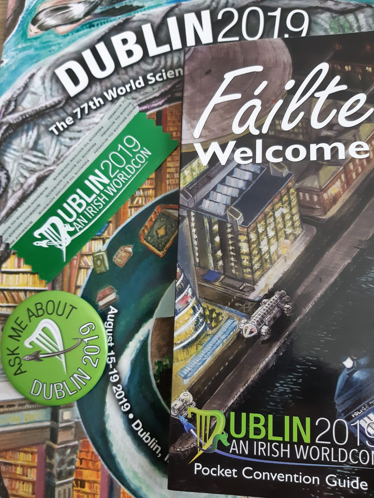 Worldcon Dublin 2019 – HSF (2019/3)